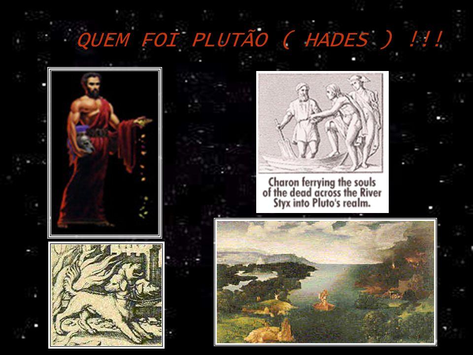 QUEM FOI PLUTÃO ( HADES ) !!!