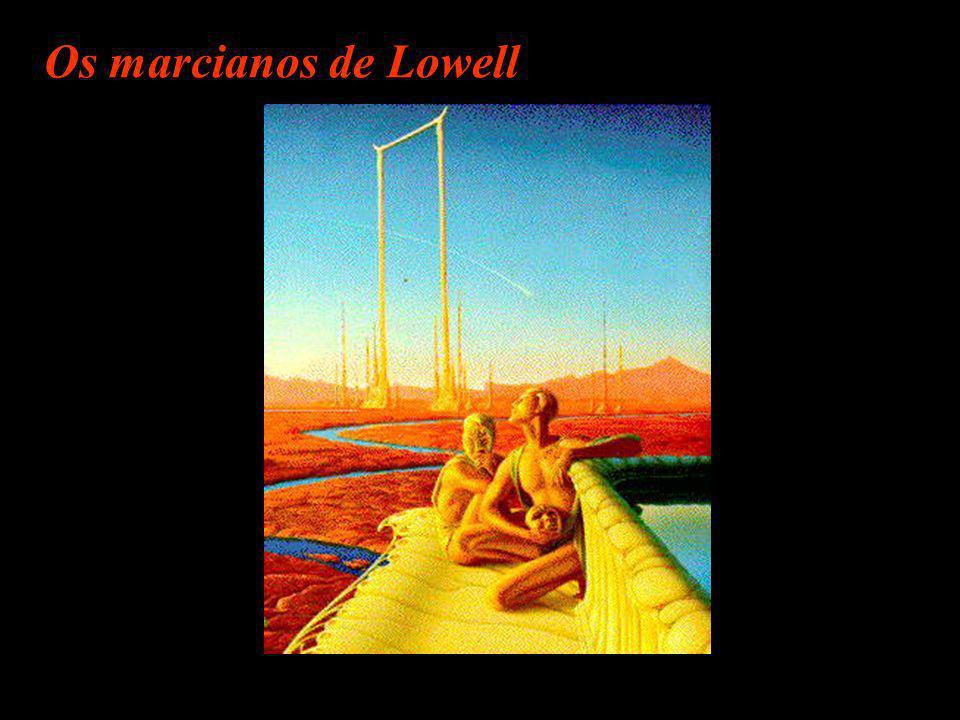 Um americano sonhador... Percival Lowell ( 1855- 1916) Observatório em Flagstaff - Arizona