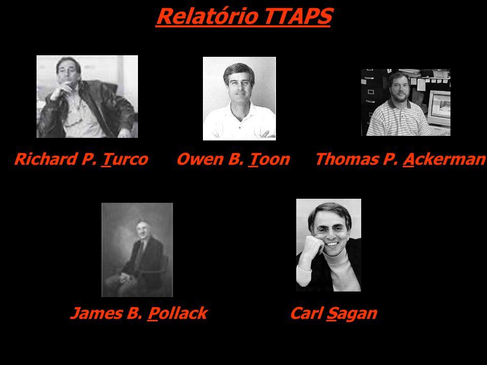 Relatório TTAPS Richard P. TurcoOwen B. ToonThomas P. Ackerman James B. PollackCarl Sagan