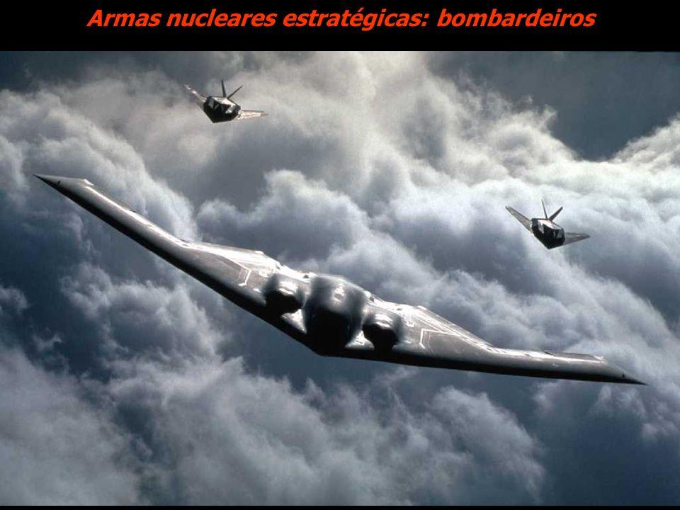 Armas nucleares estratégicas: bombardeiros