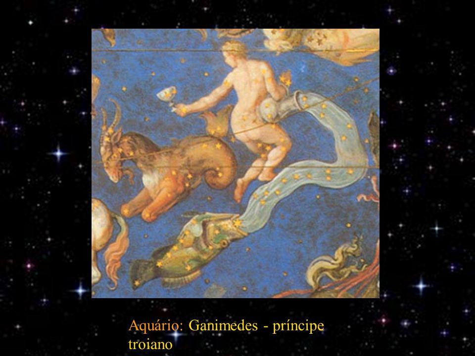 Aquário: Ganimedes - príncipe troiano