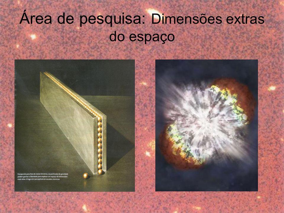 Área de pesquisa: Dimensões extras do espaço