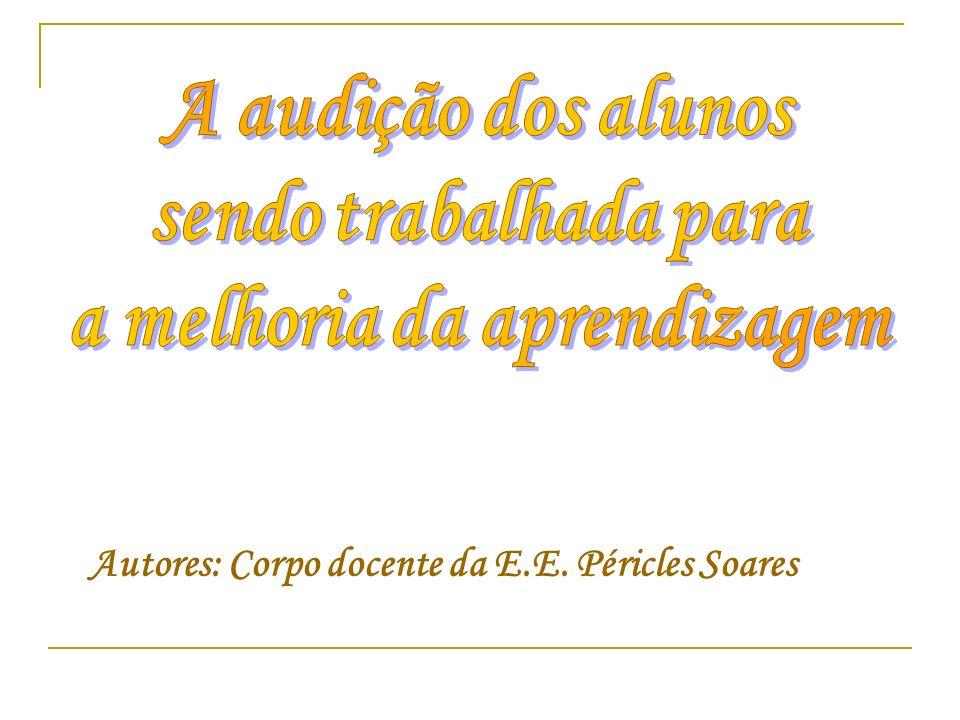 Autores: Corpo docente da E.E. Péricles Soares