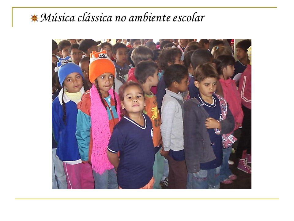 Música clássica no ambiente escolar
