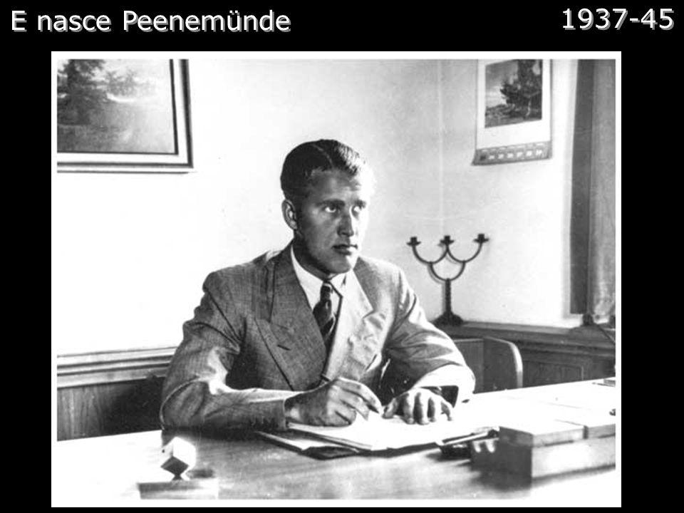 A grande jogada Comentários:Em 1936, já com o título de Diretor do Programa Militar de Desenvolvimento de Foguetes da Alemanha, que von Braun fez uma