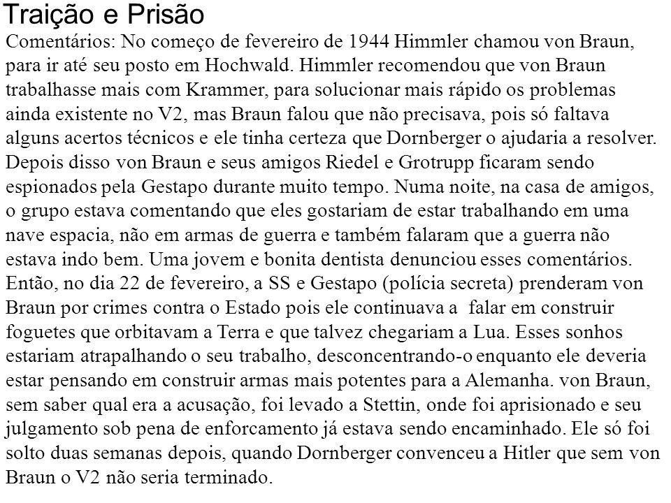 Traição e prisão 02/1944