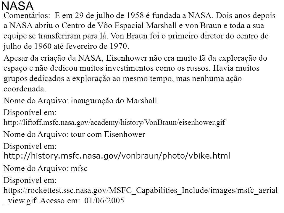 NASA 29/07/1958