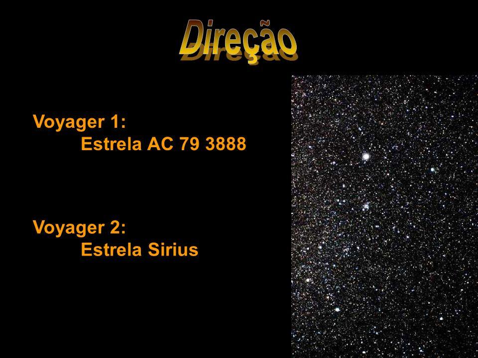 Voyager 1: Estrela AC 79 3888 Voyager 2: Estrela Sirius