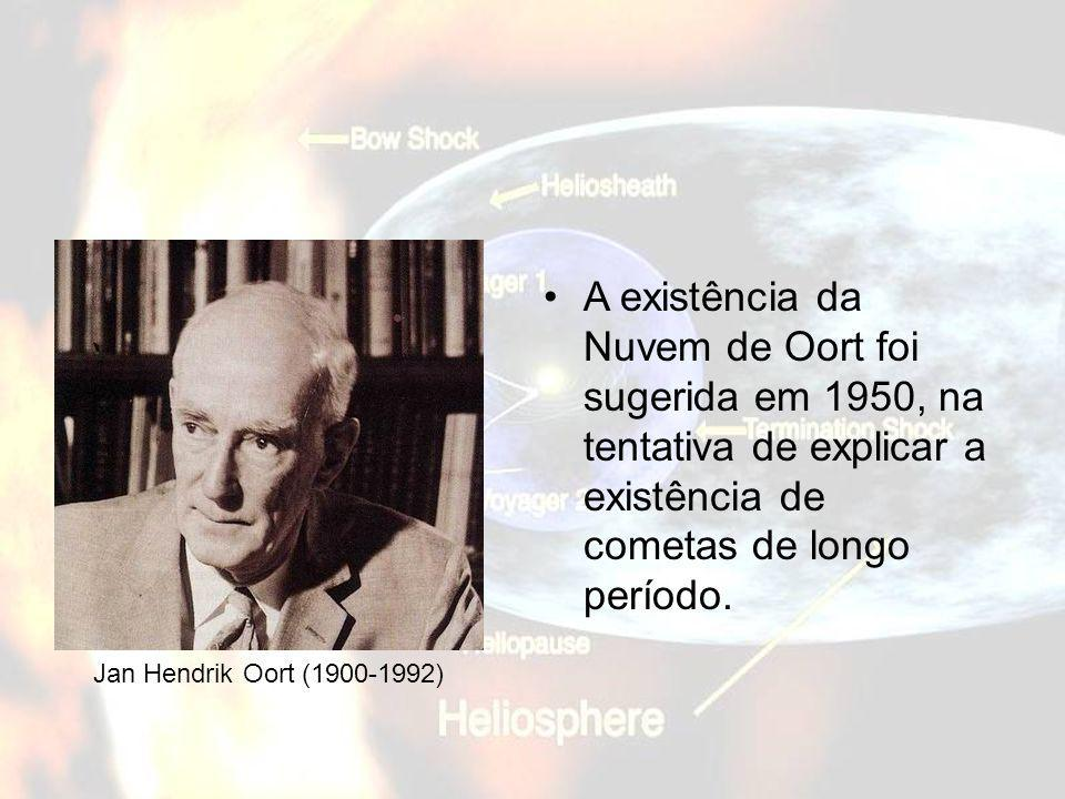 Jan Hendrik Oort (1900-1992) A existência da Nuvem de Oort foi sugerida em 1950, na tentativa de explicar a existência de cometas de longo período.