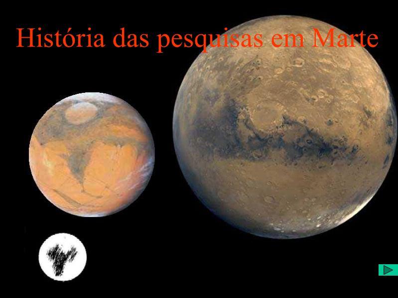 História das pesquisas em Marte