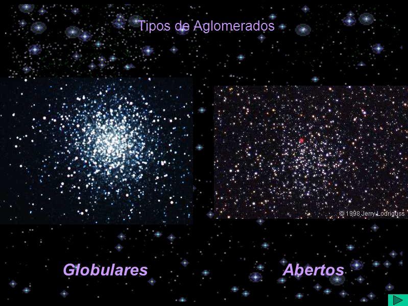 Tipos de Aglomerados GlobularesAbertos