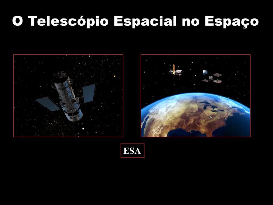 O Telescópio Espacial no Espaço ESA