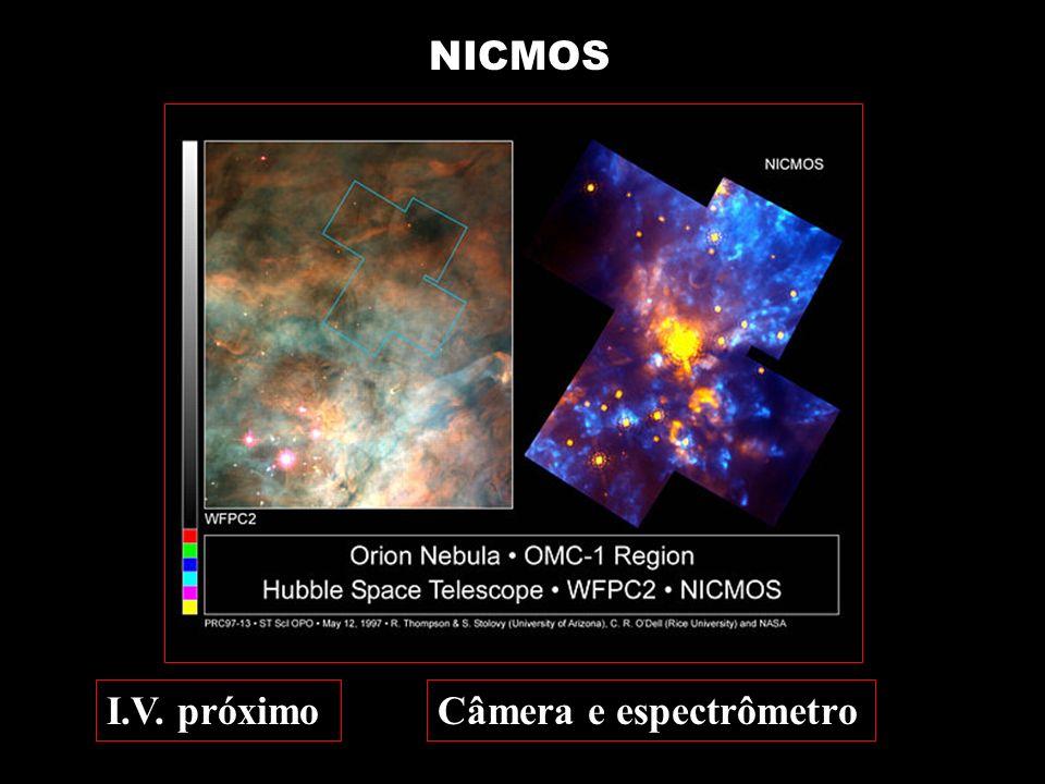 NICMOS Câmera e espectrômetroI.V. próximo