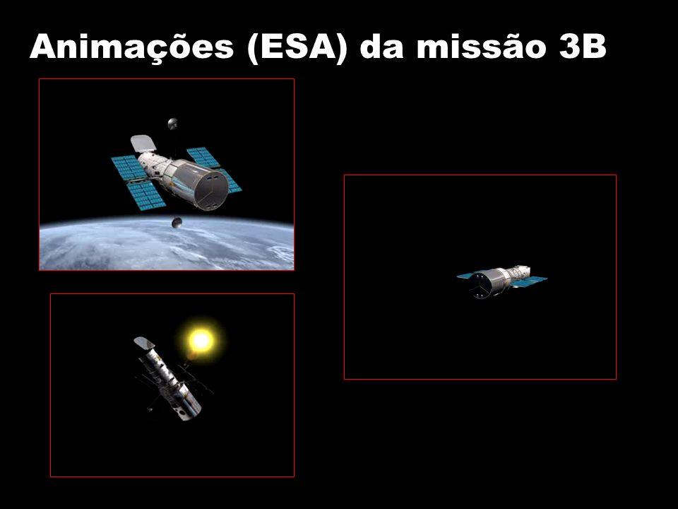 Animações (ESA) da missão 3B