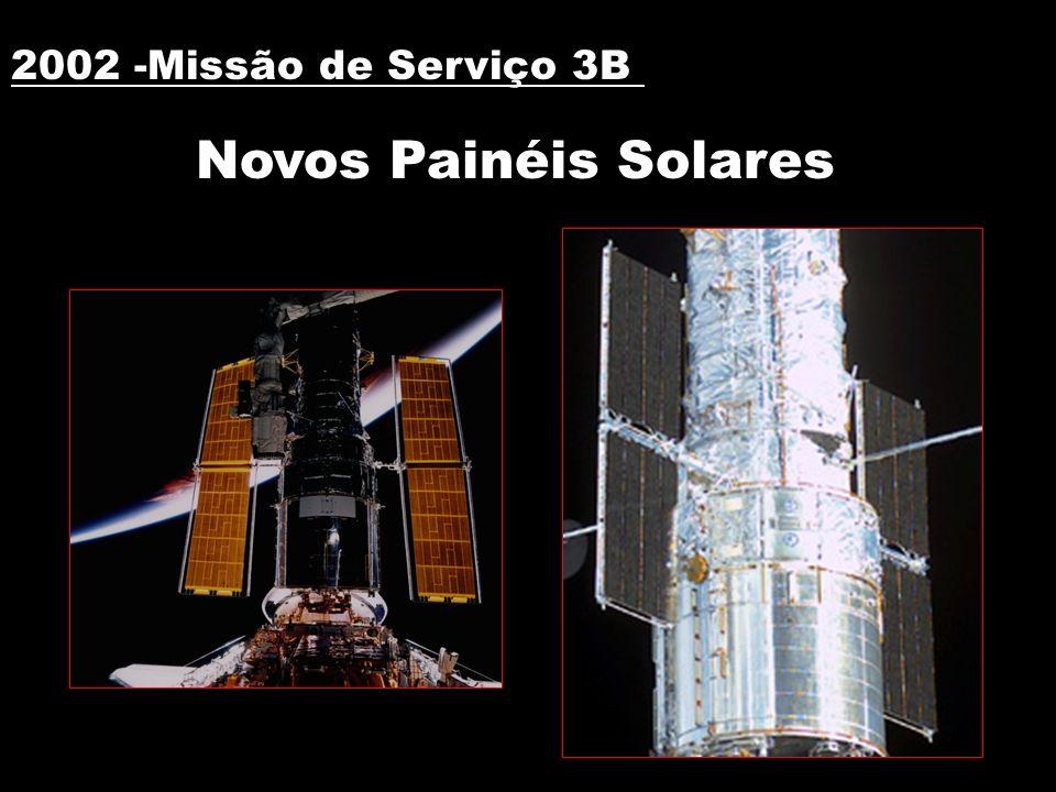 Novos Painéis Solares 2002 -Missão de Serviço 3B