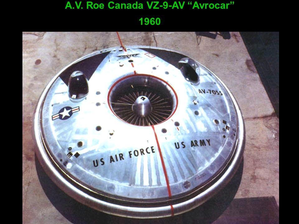 A.V. Roe Canada VZ-9-AV Avrocar 1960