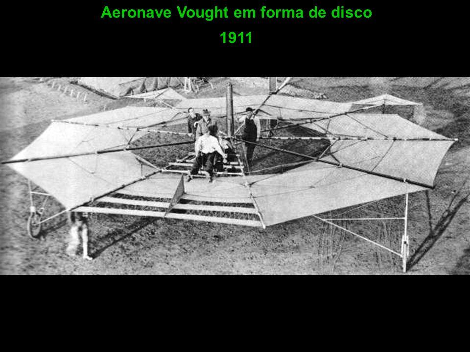 Aeronave Vought em forma de disco 1911