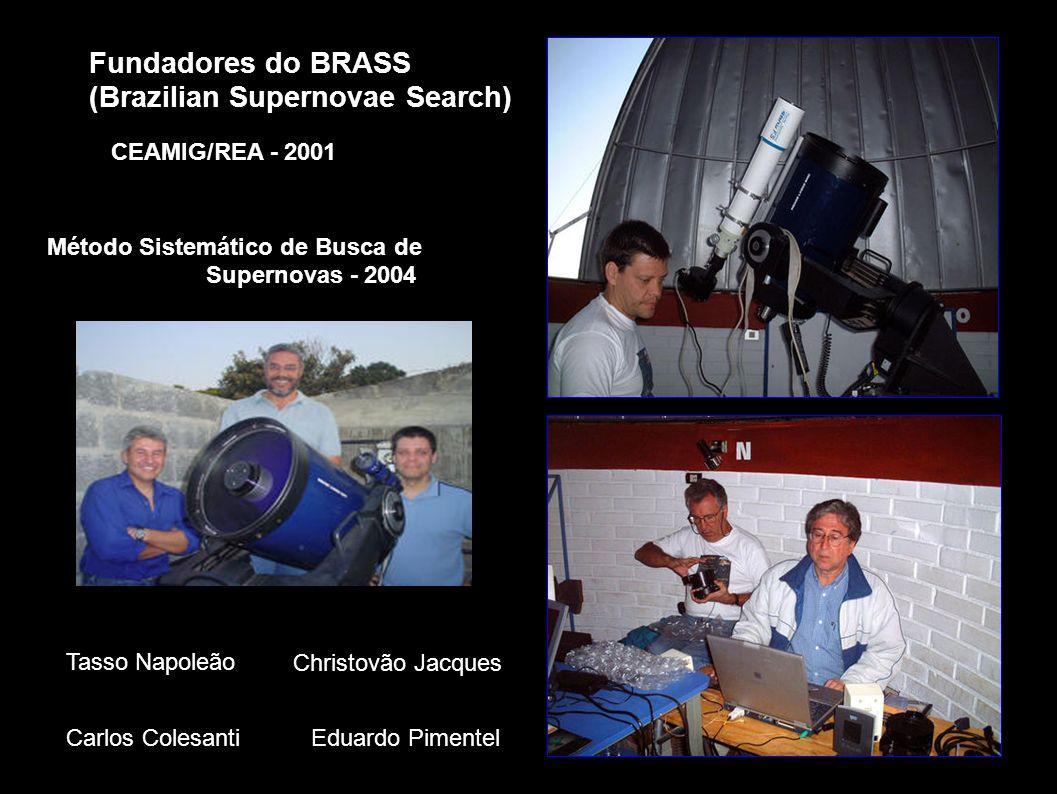 Fundadores do BRASS (Brazilian Supernovae Search) Tasso Napoleão Christovão Jacques Carlos Colesanti Eduardo Pimentel Método Sistemático de Busca de S
