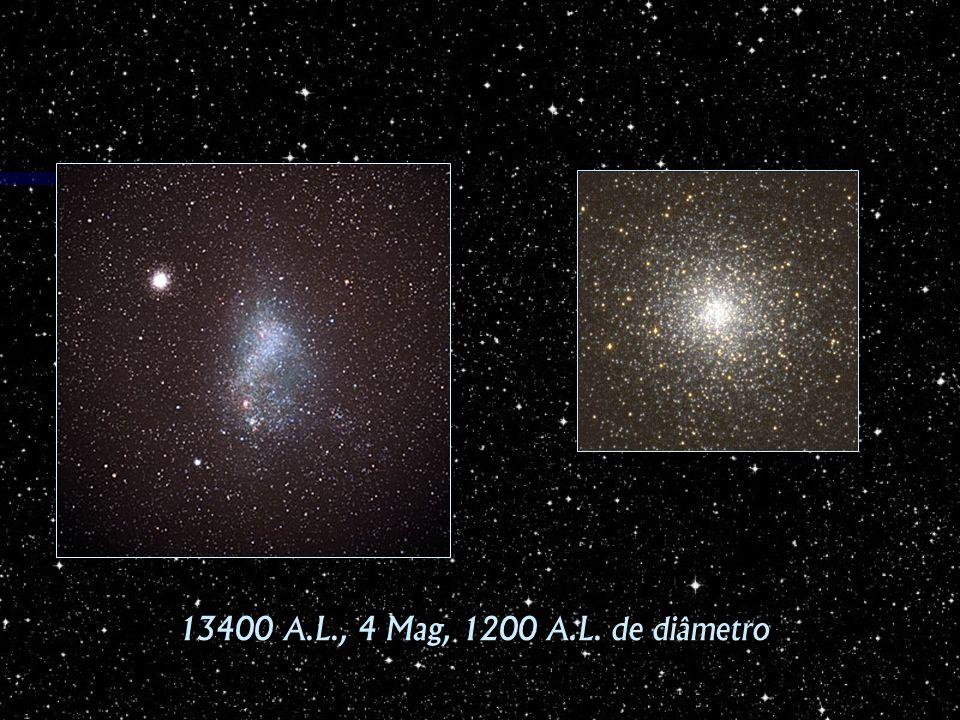 13400 A.L., 4 Mag, 1200 A.L. de diâmetro