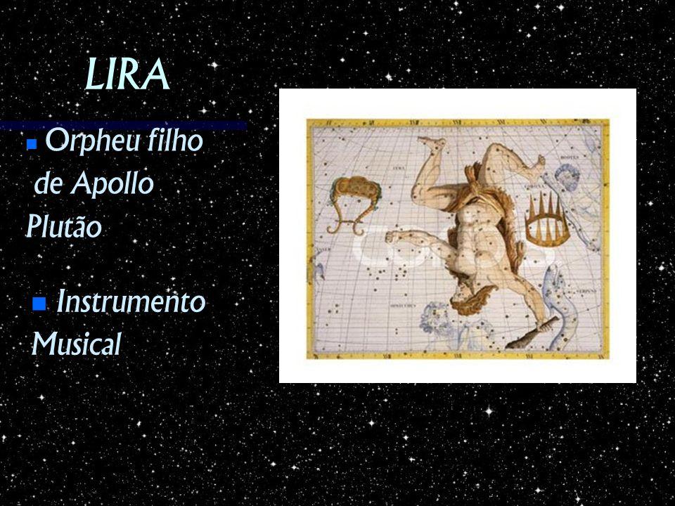 LIRA Instrumento InstrumentoMusical Orpheu filho Orpheu filho de Apollo de ApolloPlutão