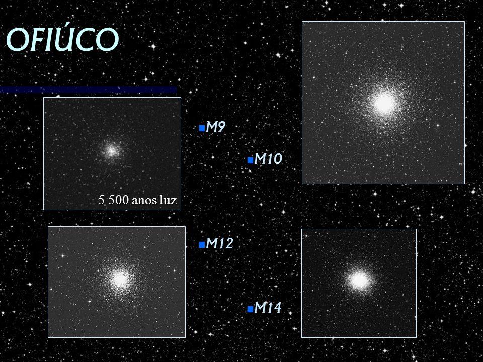 OFIÚCO M9 M9 M12 M12 M10 M10 M14 M14 5 500 anos luz
