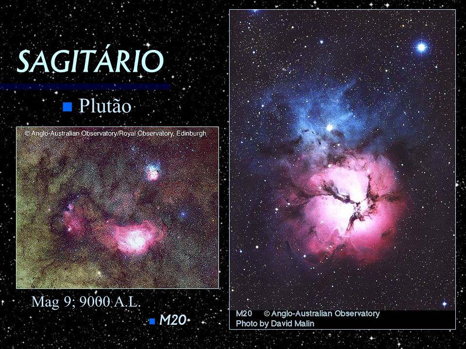 SAGITÁRIO M20 M20 n Plutão Mag 9; 9000 A.L.