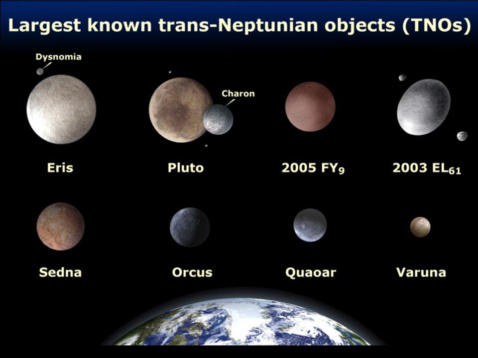 New Horizons - NASA - Principal objetivo: caracterização global da geologia e morfologia de Plutão e Caronte; - objetivo secundário: variações da atmosfera desses corpos; outros corpos do cinturão de Kuiper.