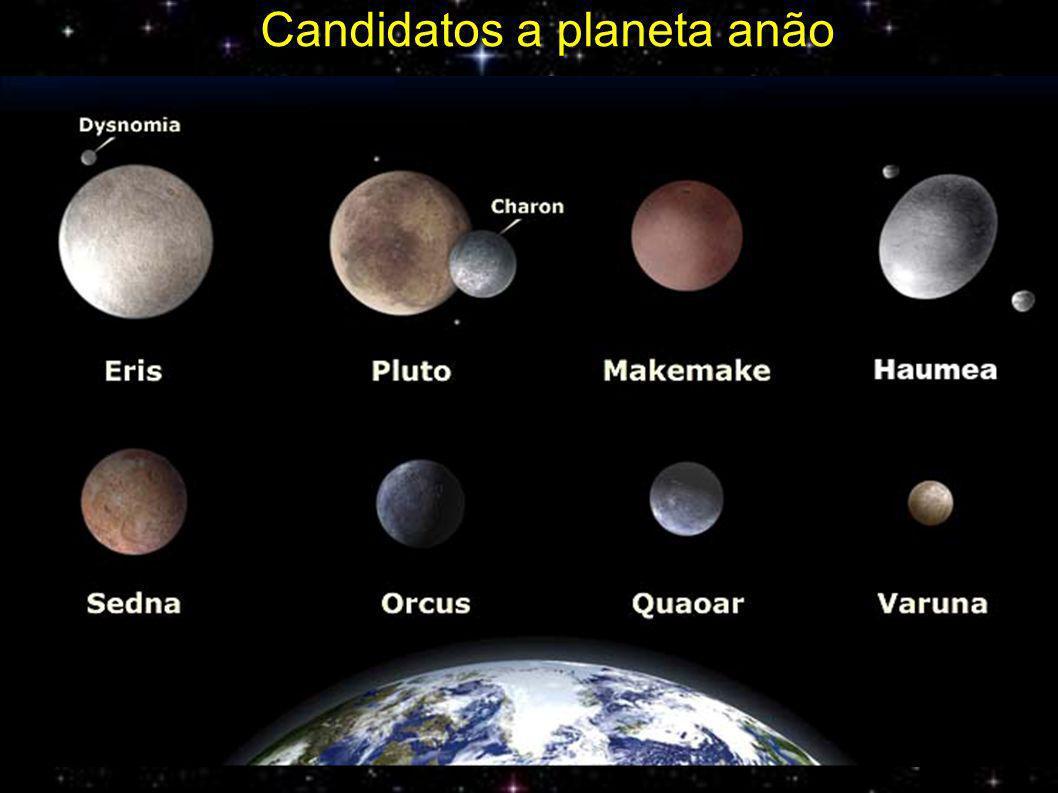 Candidatos a planeta anão