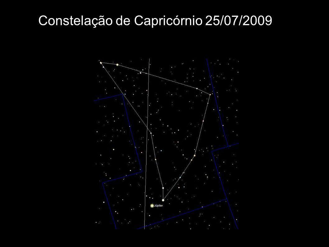 Constelação de Capricórnio 25/07/2009