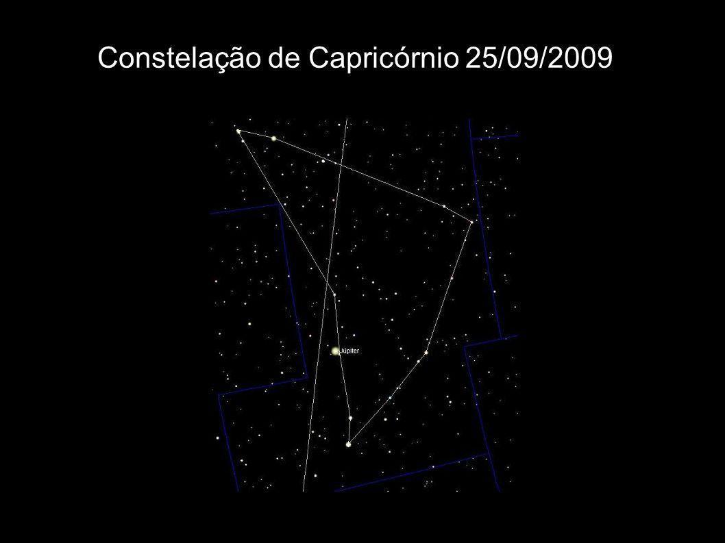 Constelação de Capricórnio 25/09/2009