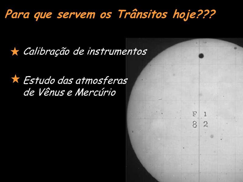Estudo das atmosferas de Vênus e Mercúrio Para que servem os Trânsitos hoje??.