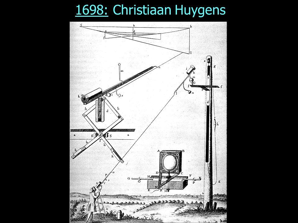 1687: Isaac Newton