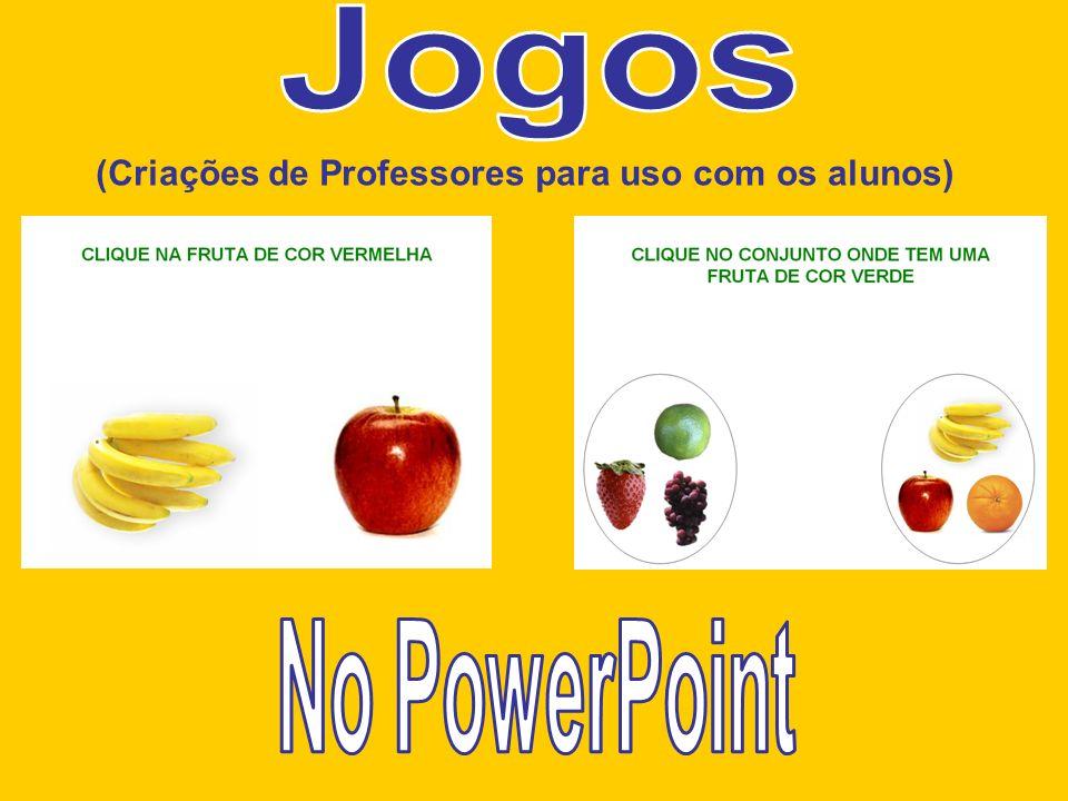 (Criações de Professores para uso com os alunos)