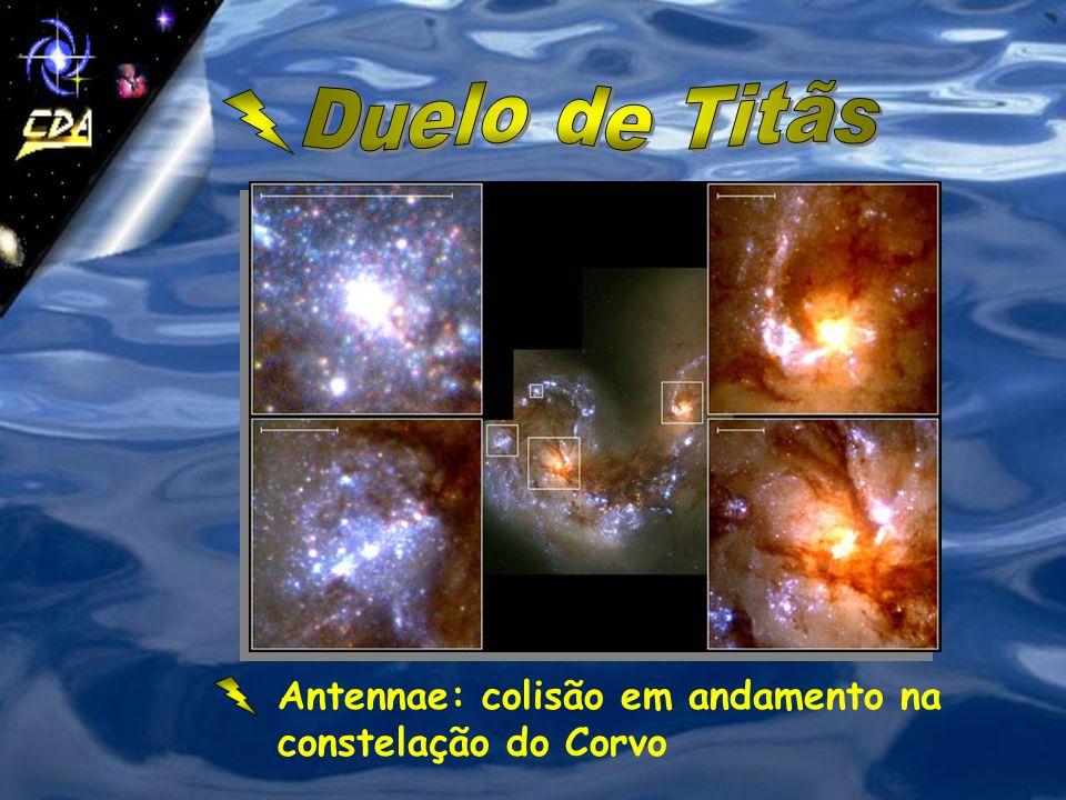 As galáxias podem se fundir uma a outra, se modificar ou apenas interagir (trocar matéria). As estrelas raramente colidem. Uma galáxia muito grande po