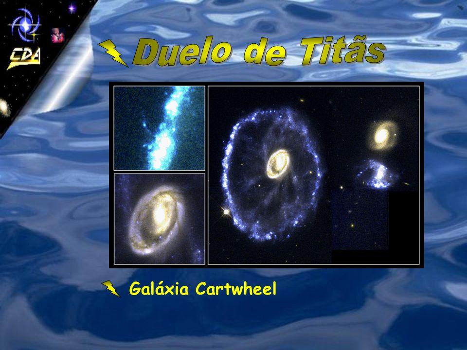 Arp 220: Colisão de duas galáxias espirais a 250 milhões de anos-luz