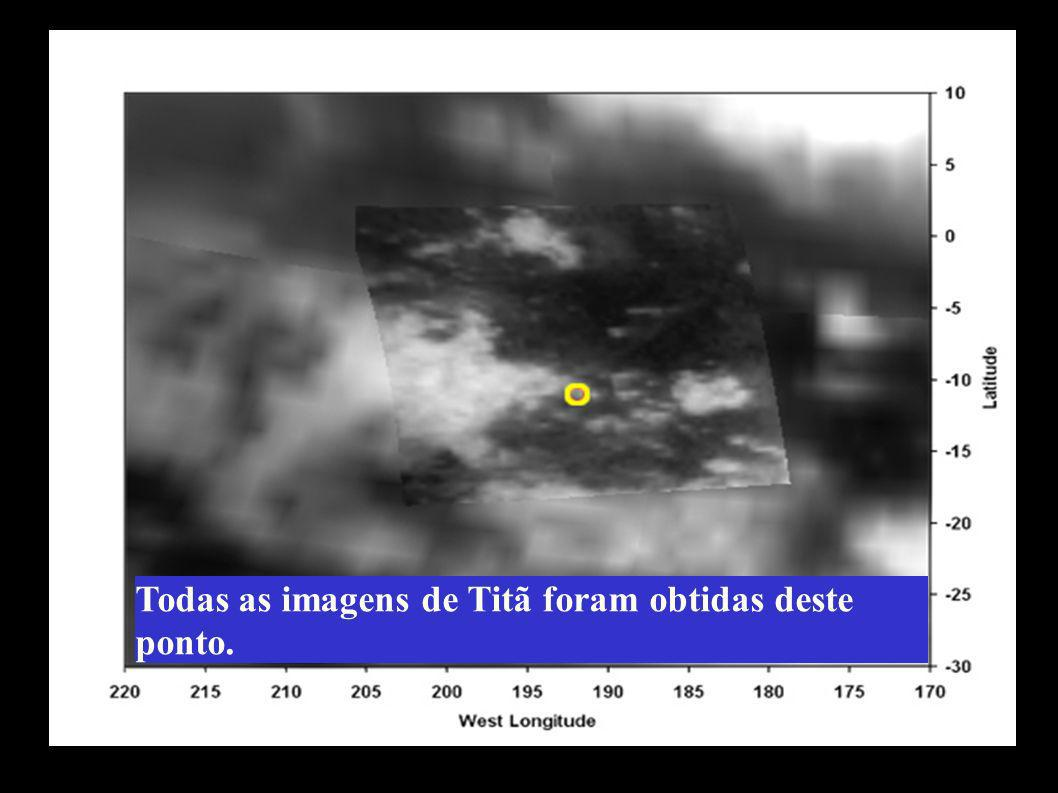 Todas as imagens de Titã foram obtidas deste ponto.