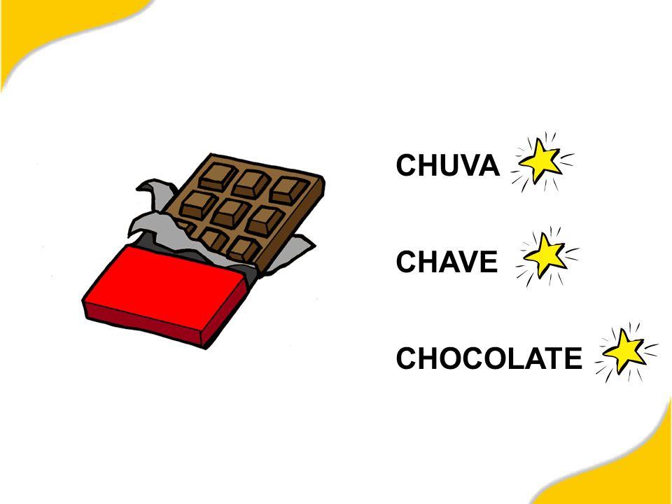 CHUVA CHAVE CHOCOLATE