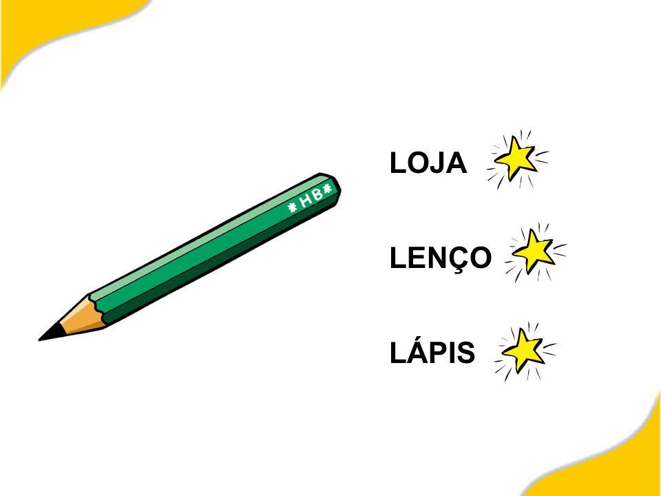 LOJA LENÇO LÁPIS
