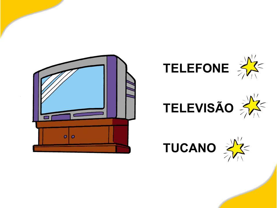 TELEFONE TELEVISÃO TUCANO