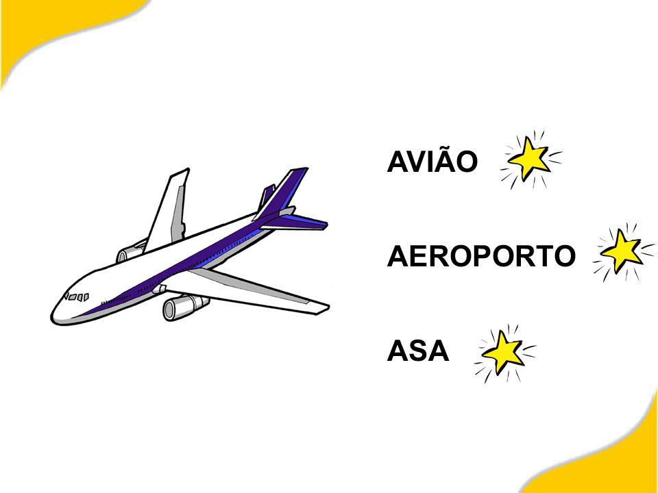 AVIÃO AEROPORTO ASA