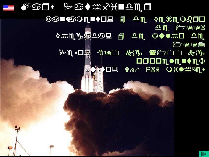 Diapositivo Visual Mars Pathfinder Lançamento: 4 de Dezembro de 1996 Chegada: 4 de Julho de 1997 Peso: 890 kg (100 kg propelente) Custo: U$ 265 milhões