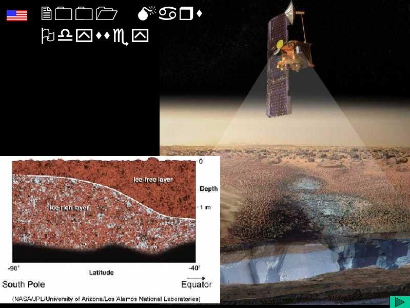 Diapositivo Visual 2001 Mars Odyssey