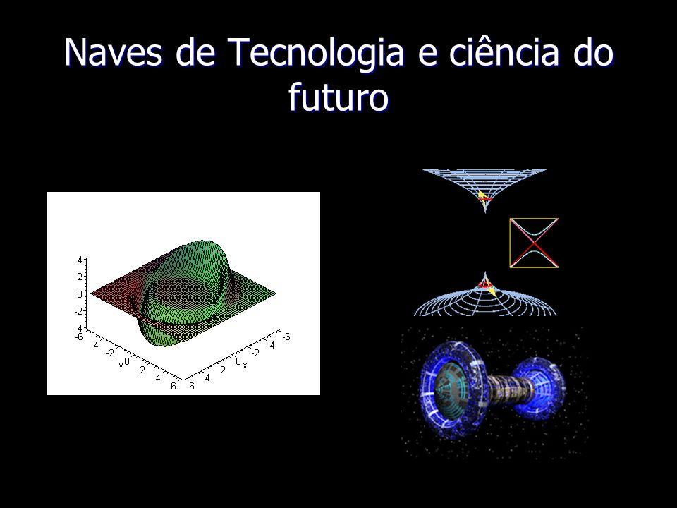 Naves de Tecnologia e ciência do futuro