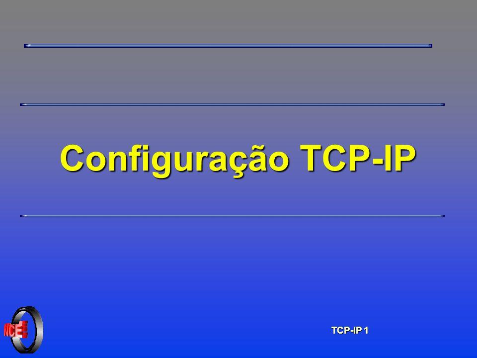 TCP-IP 1 Configuração TCP-IP