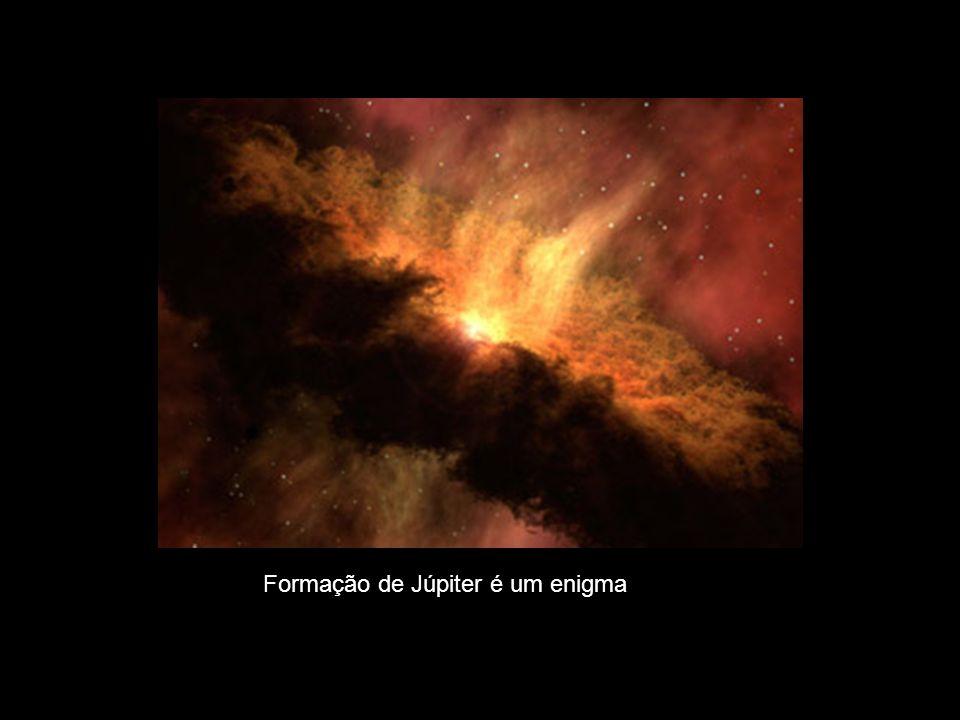 Formação de Júpiter é um enigma