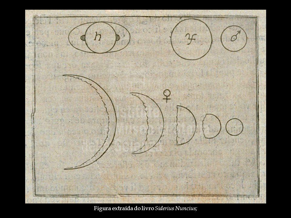 Figura extraída do livro Siderius Nuncius;