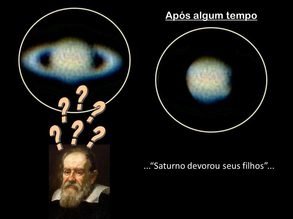 Após algum tempo...Saturno devorou seus filhos...