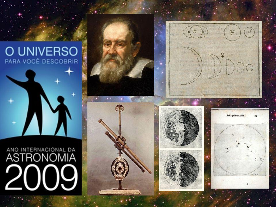 Galileu morreu sem responder a estas duas perguntas: O que são os objetos ao redor do planeta.