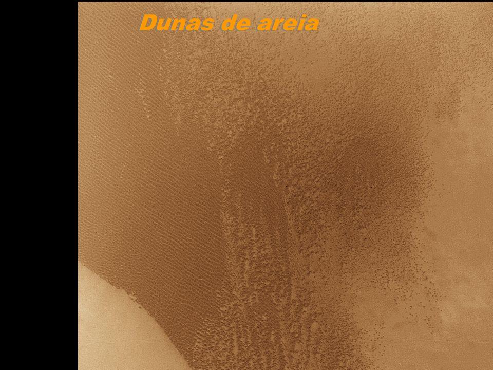Proctor Crater Dunas de areia