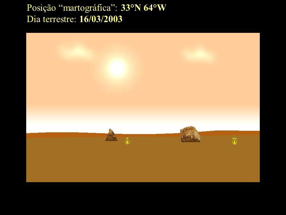 Posição martográfica: 33°N 64°W Dia terrestre: 16/03/2003
